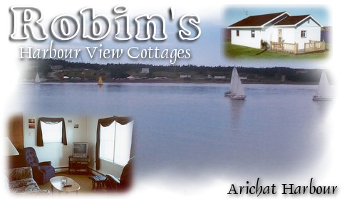 Robin S Harbourview Cottages In Arichat Nova Scotia